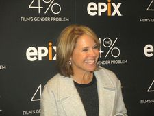 Katie Couric enthusiastically in support of The 4%: Film's Gender Problem